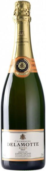 Шампанское Delamotte Brut Rose