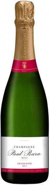 Шампанское Paul Bara, Brut Grand Rose Grand Cru, Champagne AOC, 0.375 л
