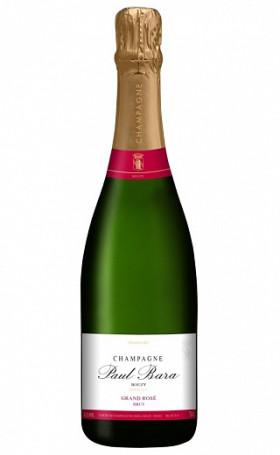 Шампанское Champagne Paul Bara Grand Rose Brut Bouzy Grand Cru 0.75л