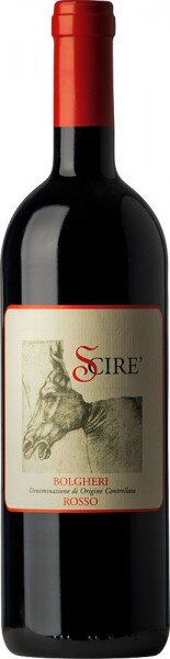 "Вино Ceralti, ""Scire"", Bolgheri Rosso DOC, 2012"