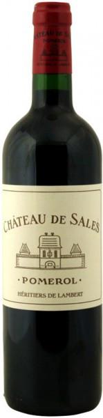 Вино Chateau de Sales, Pomerol, 2006