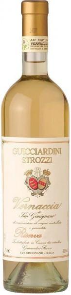 Вино Guicciardini Strozzi, Vernaccia di San Gimignano DOCG Riserva, 2011