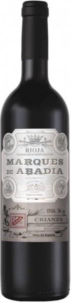 """Вино Bodegas El Cidacos, """"Marques de Abadia"""" Crianza, Rioja DOC, 2012"""