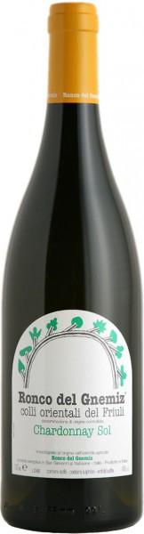 Вино Ronco Del Gnemiz, Chardonnay Sol, 2008