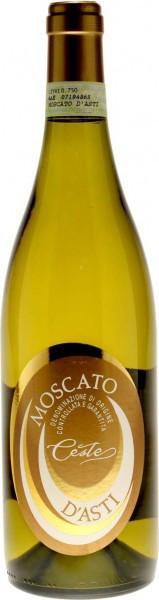 Игристое вино Ceste, Moscato d'Asti DOCG, 2010
