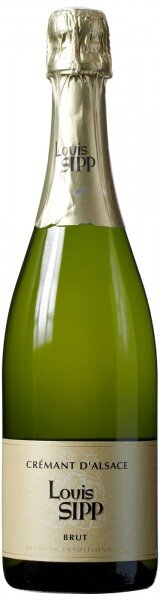 Игристое вино Louis Sipp, Cremant d'Alsace Brut