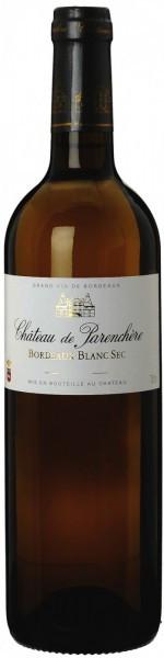"""Вино """"Chateau de Parenchere"""" Blanc, Bordeaux AOC, 2012"""