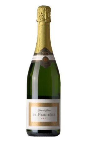 Игристое вино De Perrier Blanc de Blancs Brut 0.75л