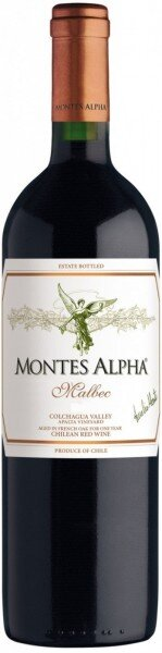 "Вино ""Montes Alpha"" Malbec, 2012"