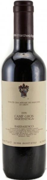 Вино Camp Gros Barbaresco DOCG, 1999, 0.375 л