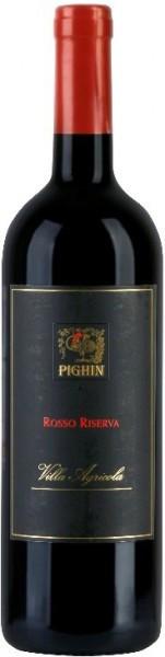 """Вино Pighin, Rosso Riserva """"Villa Agricola"""", Friuli Grave DOC, 2009"""