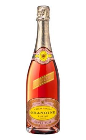 Шампанское Chanoine Cuvee Rose Brut 0.75л