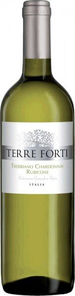 "Вино ""Terre Forti"" Trebbiano-Chardonnay, Rubicone IGT"