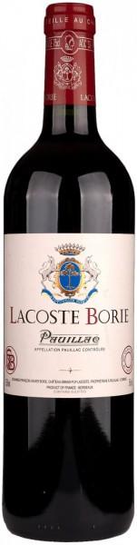 Вино Lacoste-Borie, 2012
