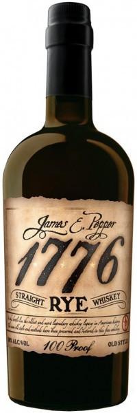 Виски James E. Pepper, 1776 Straight Rye, 0.7 л