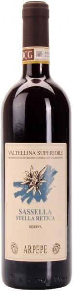 """Вино Ar. Pe. Pe., """"Sassella Stella Retica"""" Riserva, Valtellina Superiore DOCG, 2011"""