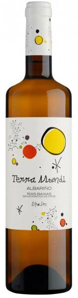 "Вино Vinigalicia, ""Terra Mundi"", Albarino, Rias Baixas DO, 2014"