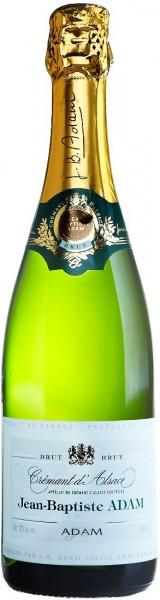 Игристое вино Jean-Baptiste Adam, Cremant d'Alsace Brut