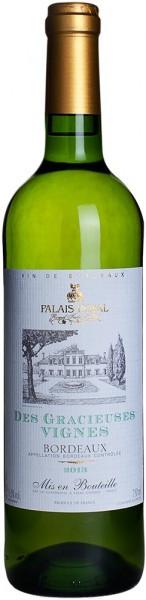 """Вино La Guyennoise, """"Des Gracieuses Vignes"""" Blanc, Bordeaux AOC, 2013"""