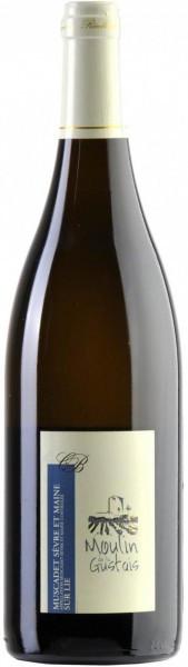 Вино Domaine La Haute Fevrie, Muscadet Sevre Et Maine Sur Lie Moulin De La Gustais AOC, 2015