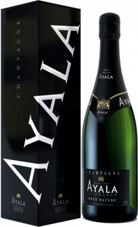 Шампанское Ayala, Brut Nature AOC, gift box