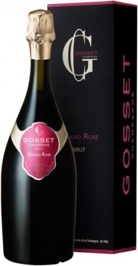 Игристое вино Brut Grand Rose, gift box