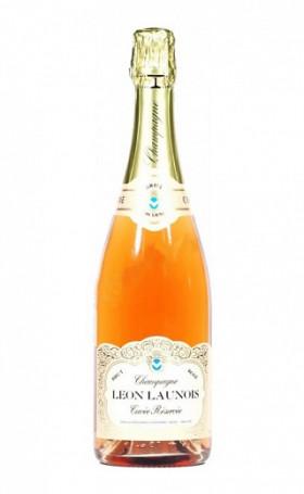 Шампанское Charles Mignon Leon Launois Brut Rose 0.75л