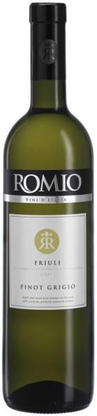 """Вино """"Romio"""" Pinot Grigio, Friuli Grave DOC, 2015"""