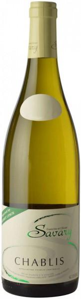 Вино Savary, Chablis AOC, 2015
