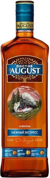 """Аперитив """"Doctor August"""" Taiga Express, 0.5 л"""