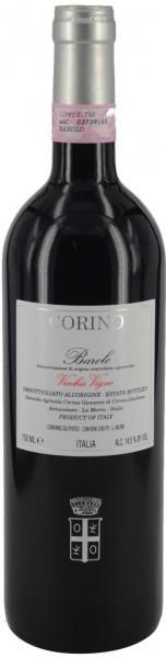 Вино Corino, Barolo Vecchie Vigne DOCG, 1999