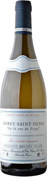 "Вино Domaine Bruno Clair, ""En la rue de Vergy"" Blanc, Morey-Saint-Denis AOC, 2006"