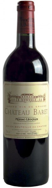 """Вино """"Chateau Baret"""" Rouge, Pessac-Leognan AOC, 2012"""