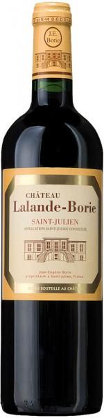 Вино Chateau Lalande-Borie, Saint-Julien AOC, 2010