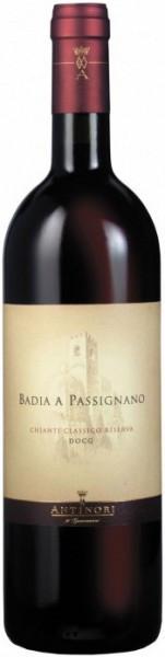 """Вино """"Badia A Passignano"""", Chianti Classico DOCG Riserva, 2003"""