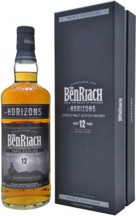 """Виски Benriach, """"Horizons"""", 12 years old, gift box, 0.7 л"""