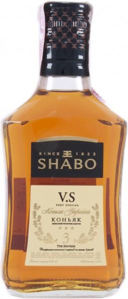 "Коньяк ""Shabo"" VS, 0.25 л"