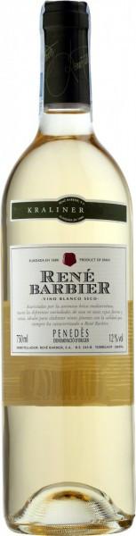 """Вино Rene Barbier, """"Kraliner"""" Seco, Penedes DO, 2013"""