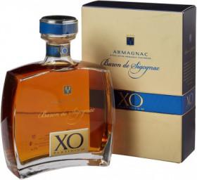 "Арманьяк ""Baron de Sigognac"" XO Platinum, gift box, 0.7 л"