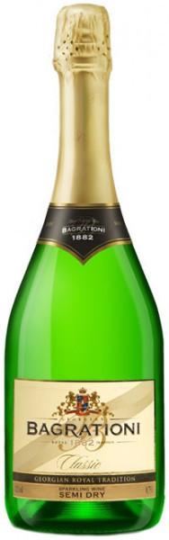 Игристое вино Bagrationi, Classic Semi-dry