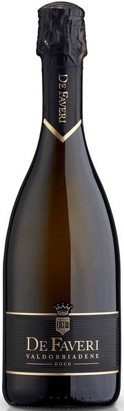 Игристое вино De Faveri, Prosecco Brut di Valdobbiadene Superiore DOCG