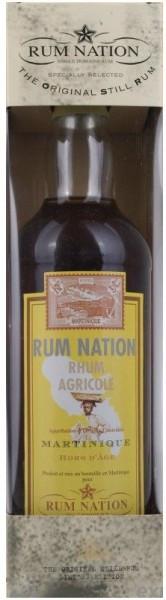 "Ром ""Rum Nation"", Martinique Hors d'Age AOC, gift box, 0.7 л"