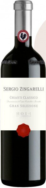 """Вино Rocca delle Macie, """"Sergio Zingarelli"""", Chianti Classico Gran Selezione DOCG, 2012"""