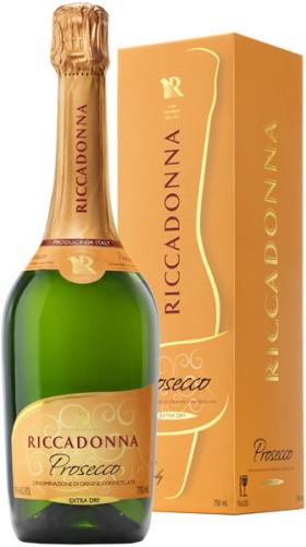 Игристое вино Riccadonna, Prosecco DOC, gift box