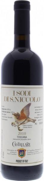 """Вино Castellare di Castellina, """"I Sodi di San Niccolo"""", Toscana IGT, 2010"""