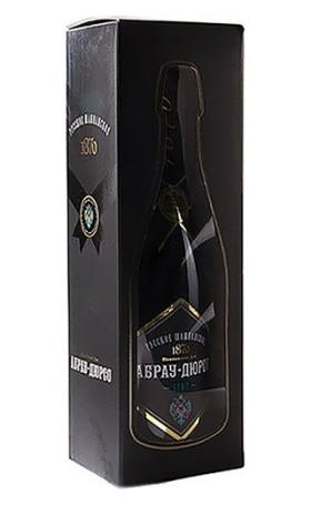 Игристое вино Абрау-Дюрсо Белое Брют gift box 0.75л