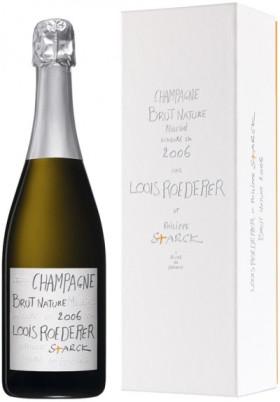 Шампанское Louis Roederer, Brut Nature, Champagne AOC, 2006, gift box