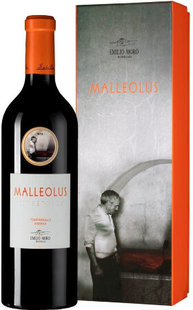 "Вино Ribera del Duero DO, ""Malleolus"", 2017, gift box"