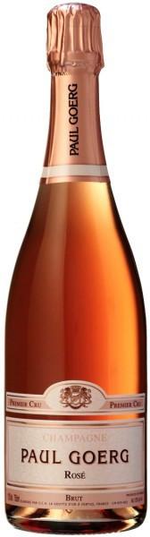 Шампанское Paul Goerg, Brut Rose Premier Cru