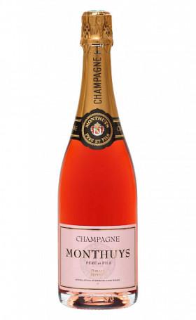 Шампанское Monthuys Pere et Fils Rose Brut 0.75л